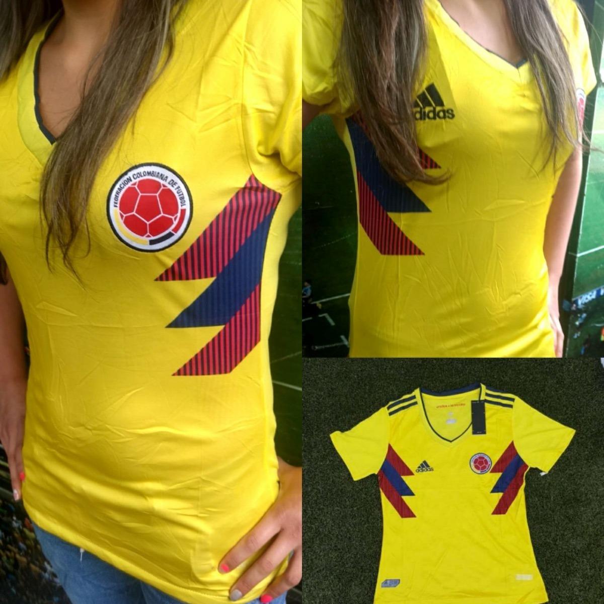 35e015079 Camiseta Selección Colombia Para Mujer - $ 40.000 en Mercado Libre