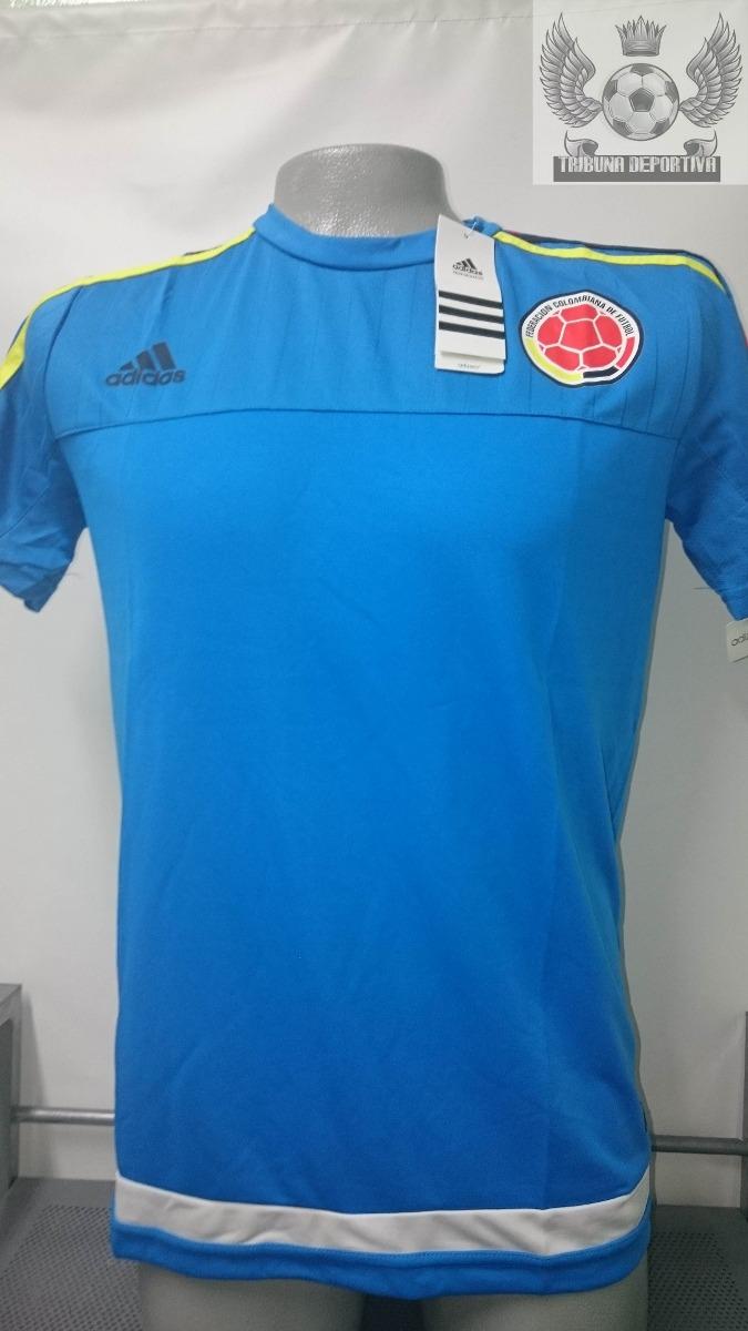 camiseta seleccion colombia oficial 2015 entrenamiento azul. Cargando zoom. c1c3156206beb