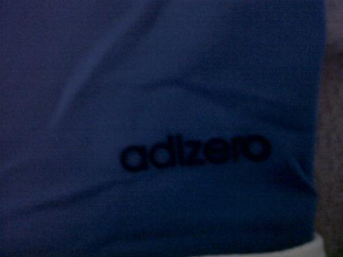 camiseta selección colombia tipo polo azul adizero