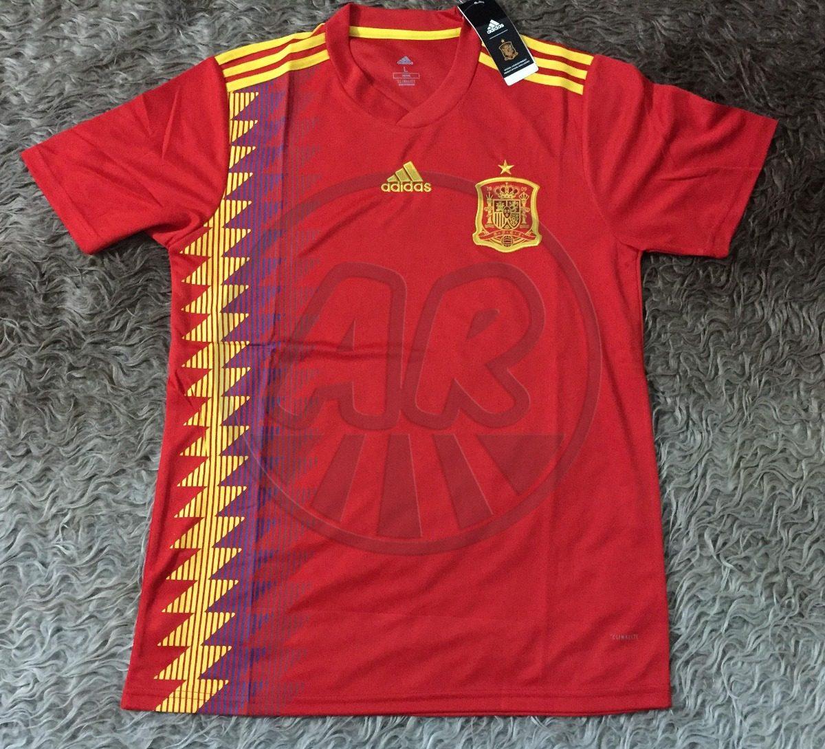 58c91d23292c7 Camiseta seleccion de españa titular mundial rusia cargando zoom jpg  1200x1089 Mercado libre camiseta espana rusia