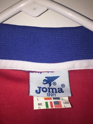 camiseta seleccion de fútbol de costa rica 2002 joma