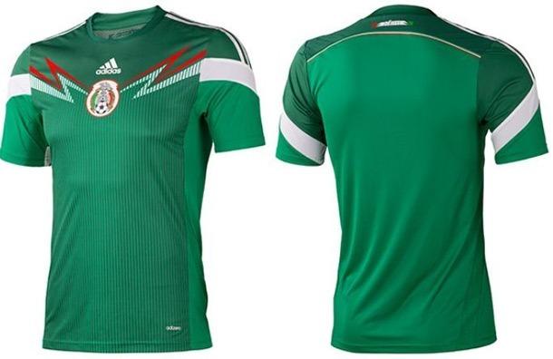3261f7a6c6c43 Camiseta Seleccion De Mexico 2014 -   480