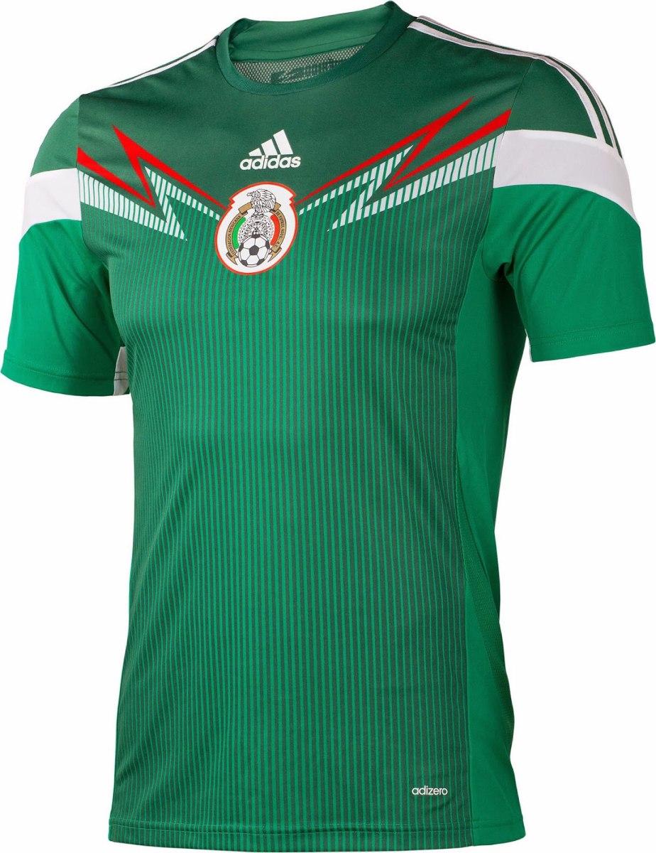 6d8b94bd64f80 Camiseta Selección De México 2014 2015 Original Nueva -   399