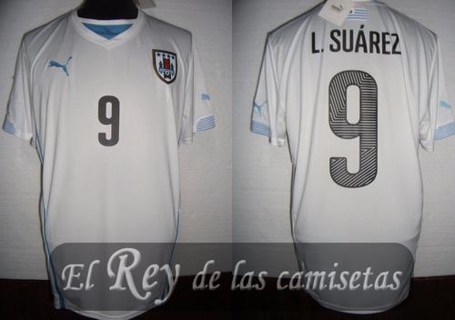 camiseta seleccion de uruguay 9 suarez 100% orignal divina!!