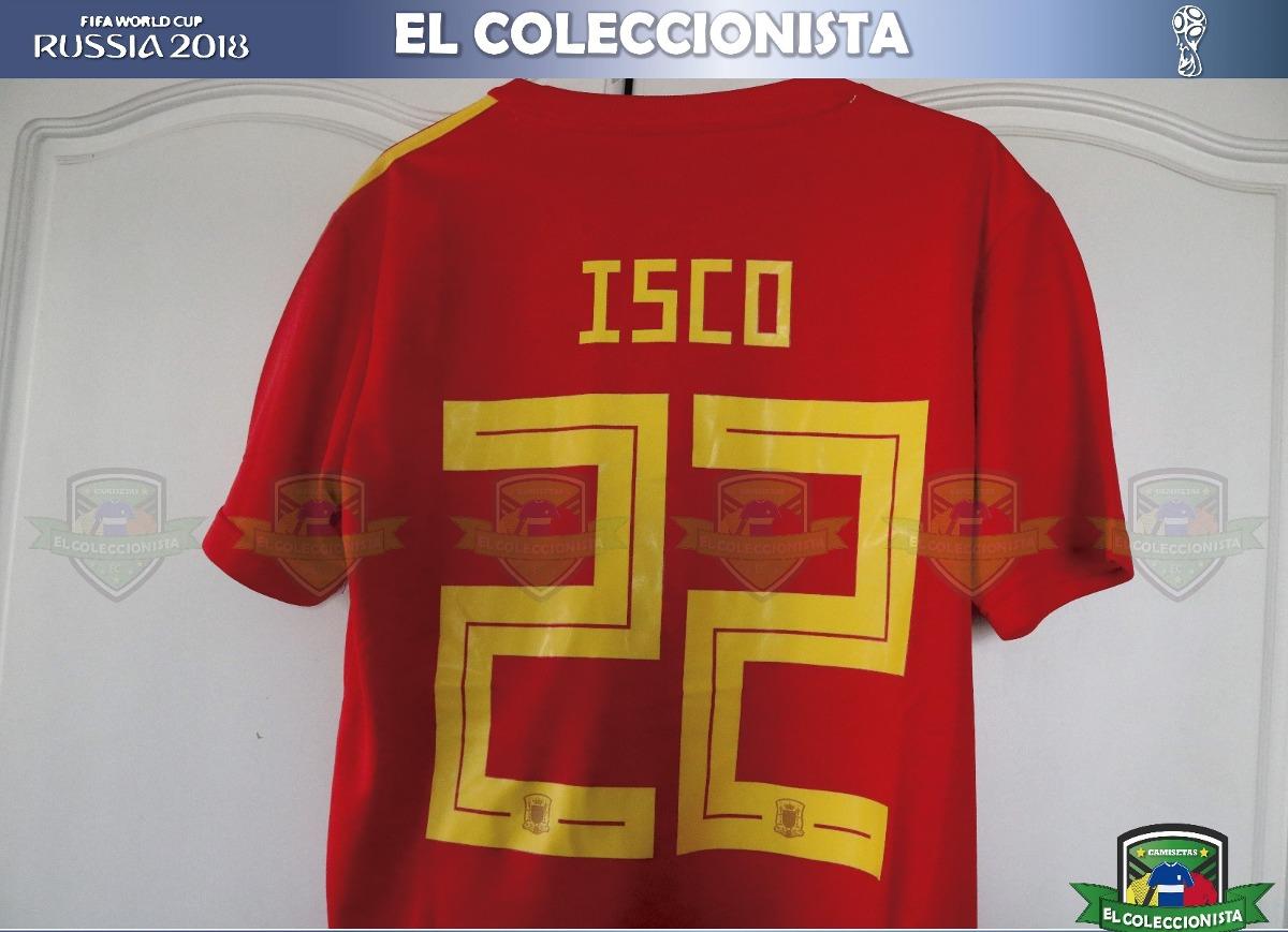 85f4cb9954e89 camiseta selección españa isco mundial rusia2018 bajo pedido. Cargando zoom.