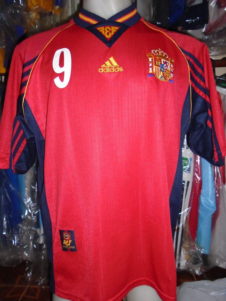 a5d7f99fc7dc0 camiseta selección españa mundial francia 1998 pizzi 9 river. Cargando zoom.