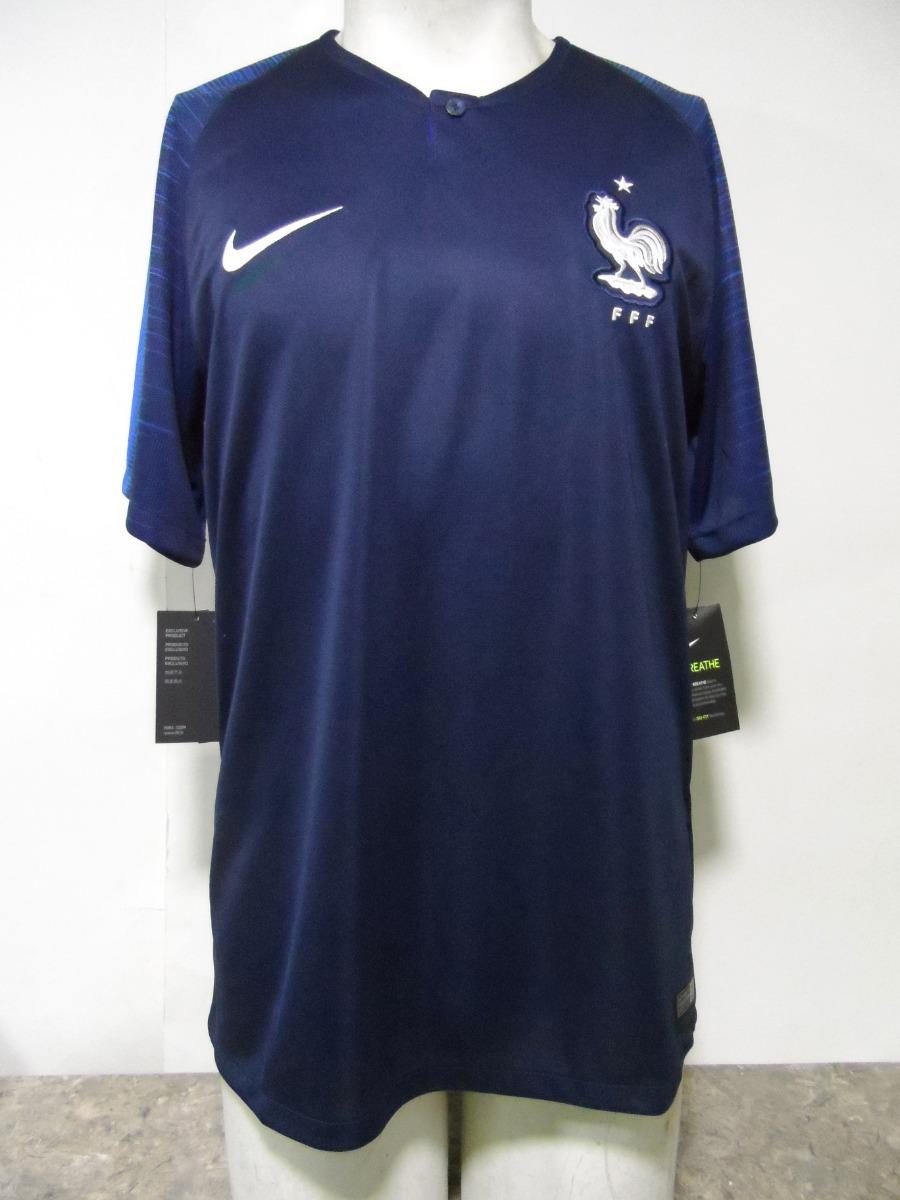 Local Nueva 2018 Nike Camiseta Francia Selección 19 Azul 5RjcL3Aq4