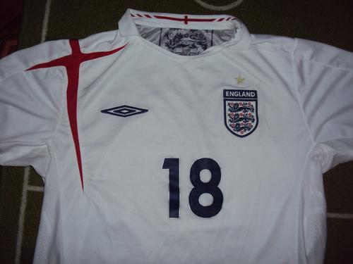 camiseta selección inglaterra 2006
