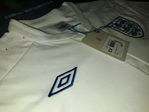 camiseta seleccion inglaterra titular 2010/12 umbro original