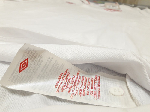 camiseta seleccion inglaterra titular #4 parker 12/13 umbro