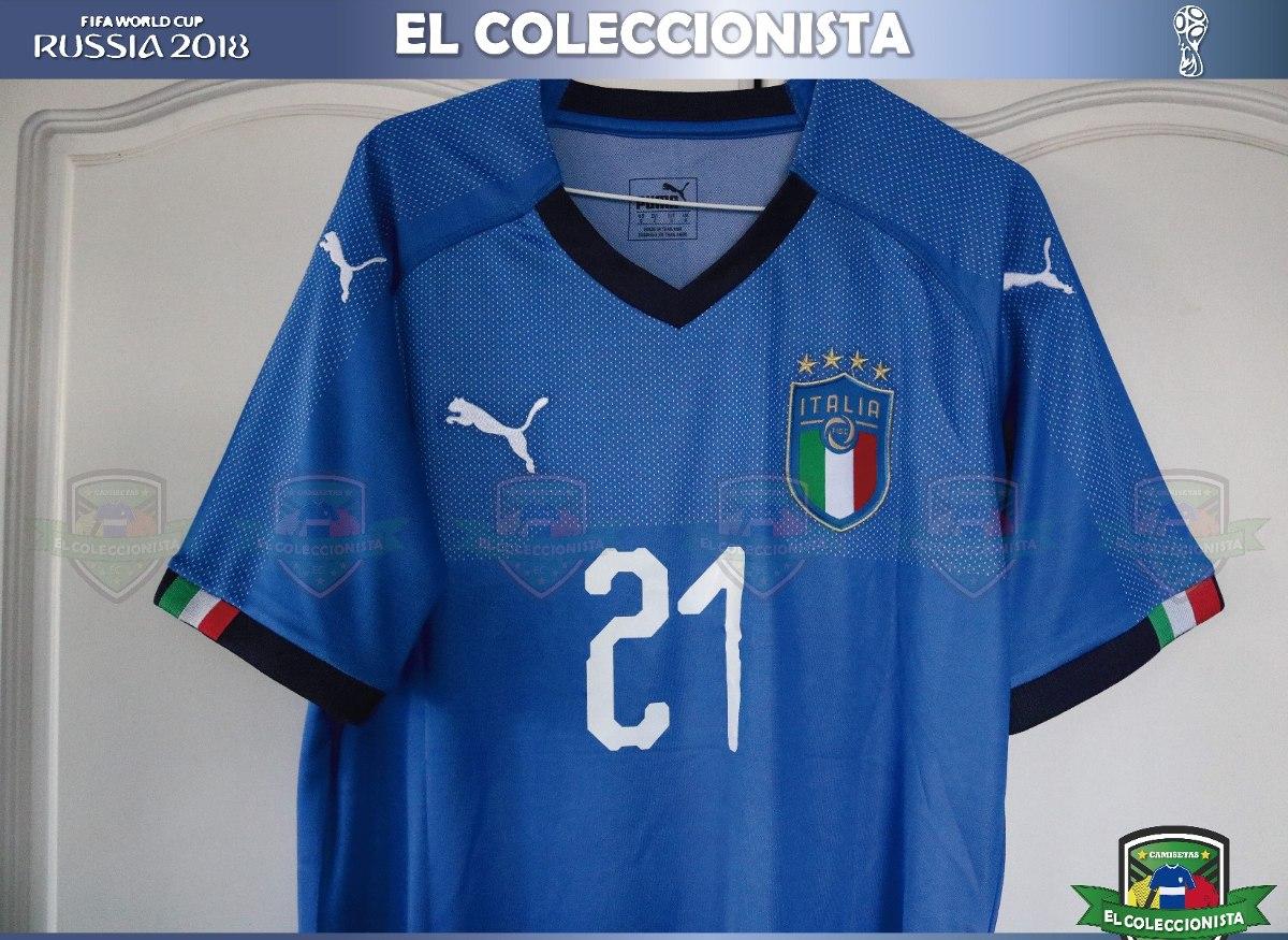 e94ab0f91658d camiseta selección italia rusia 2018 pirlo bajo pedido. Cargando zoom.