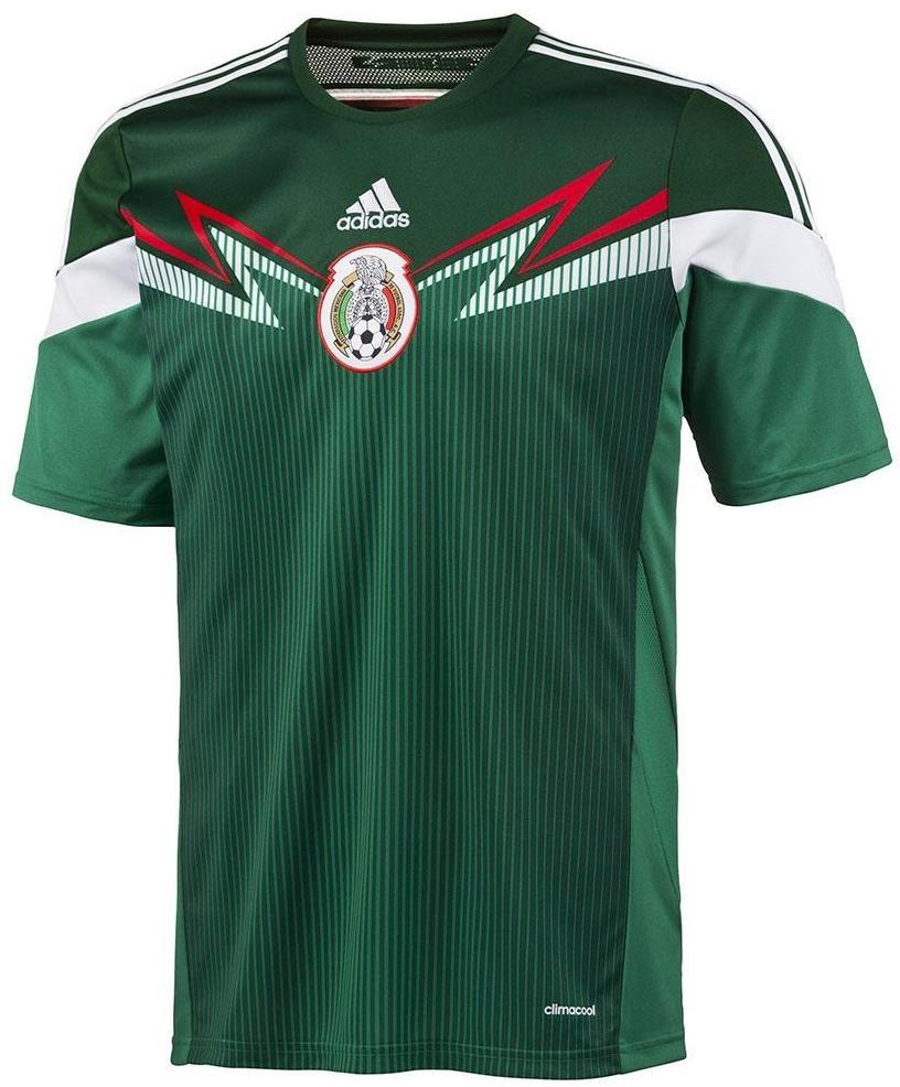 ea59d52b7a1c2 camiseta seleccion mexico adidas titular mundial 2014. Cargando zoom.
