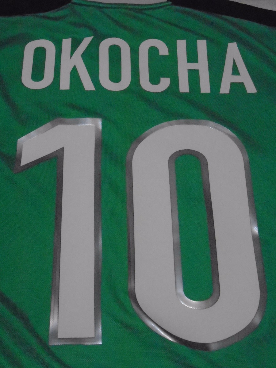 d6c0b2e747 camiseta selección nigeria mundial francia 1998 okocha  10 l. Cargando zoom.