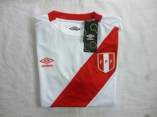camiseta selección peruana de fútbol umbro original new 2017