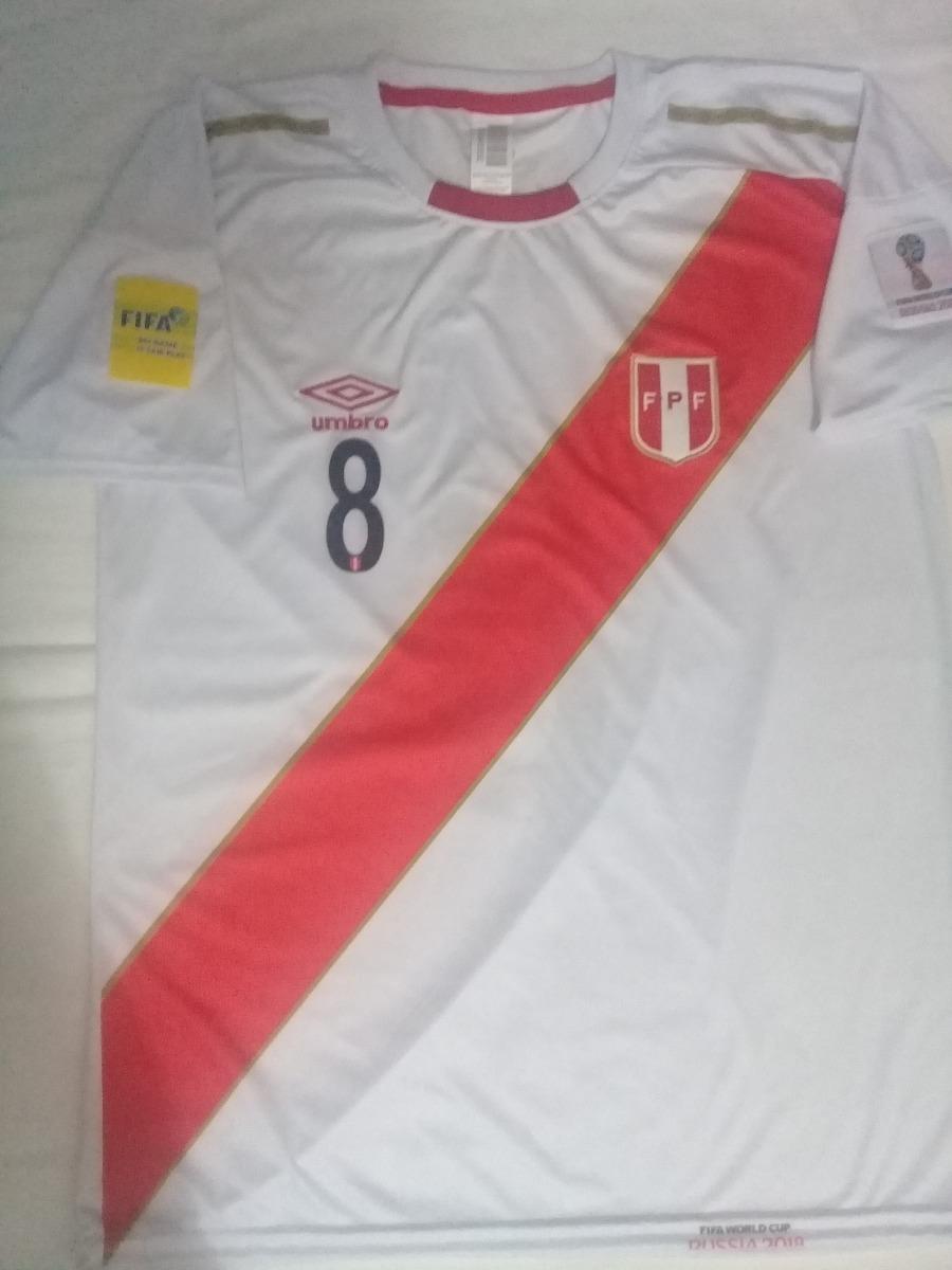 camiseta selección peruana perú mundial rusia 2018 umbro. Cargando zoom. 577eeb867823c