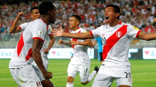 camiseta selección peruana umbro original 2017 eliminatorias