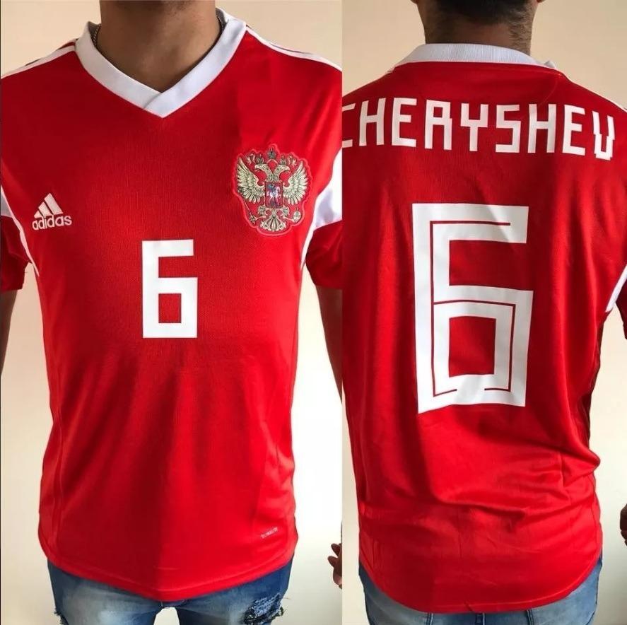 79de255efb484 Camiseta Seleccion Rusia 2018 adidas -  6 Cheryshev -   1.200