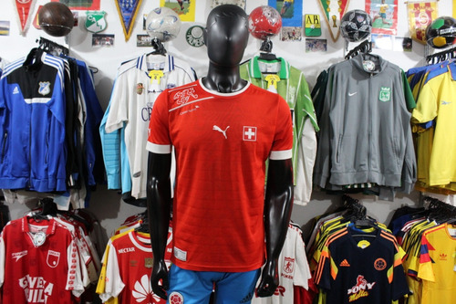 camiseta seleccion suiza puma talla m xdx