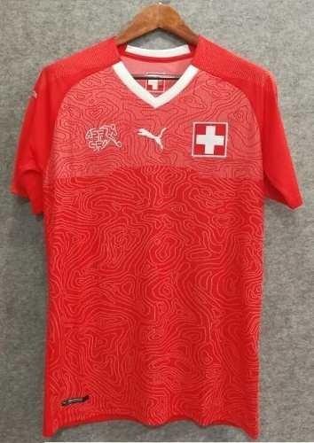 camiseta seleccion suiza titular oficial 2018