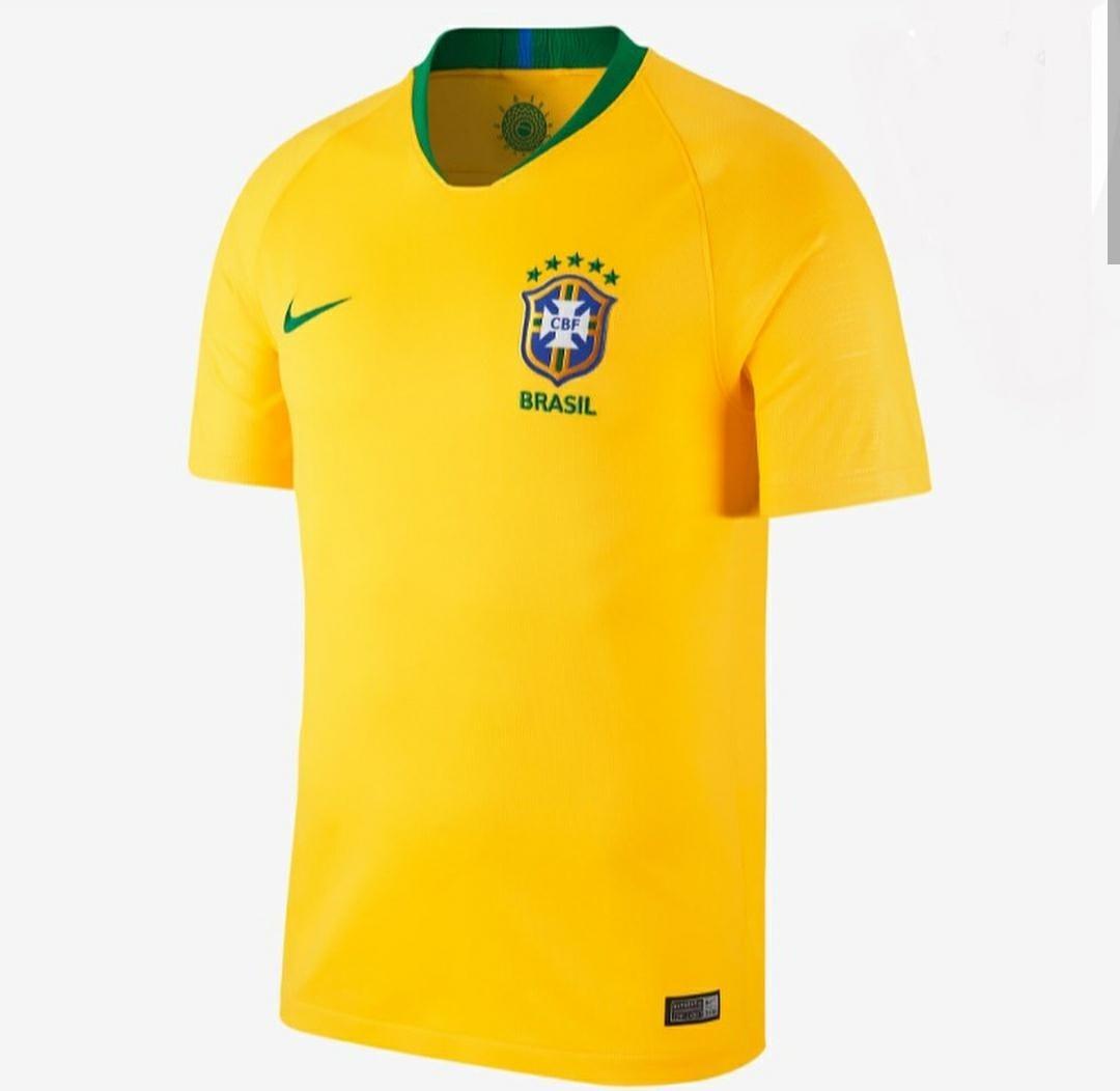 39dfb80735 camiseta seleção brasileira copa 2018 oficial 100% original. Carregando zoom .