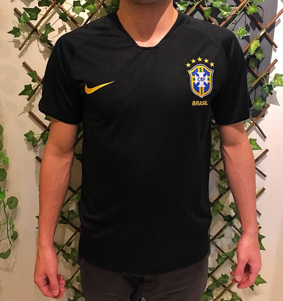 89850ebe5b camiseta seleção brasileira goleiro preta copa america 2018. Carregando zoom .
