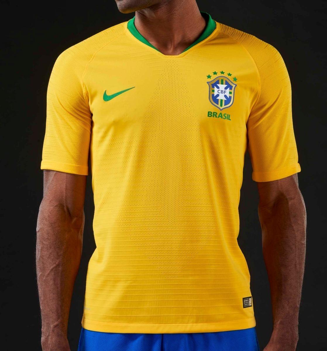 c09719cda camiseta seleção brasileira original copa 18 oficial neymar. Carregando zoom .