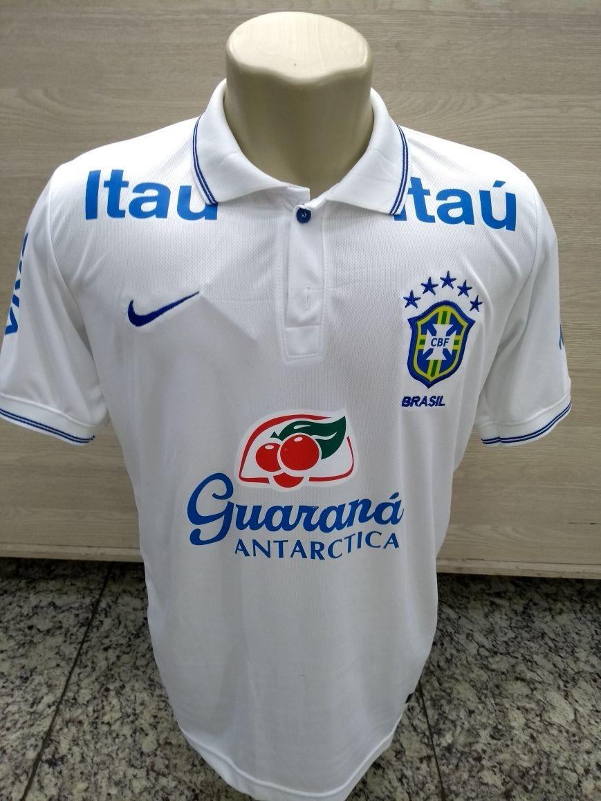 camiseta seleção brasileira patrocinio guaraná antartica. Carregando zoom. 0d1715f787429