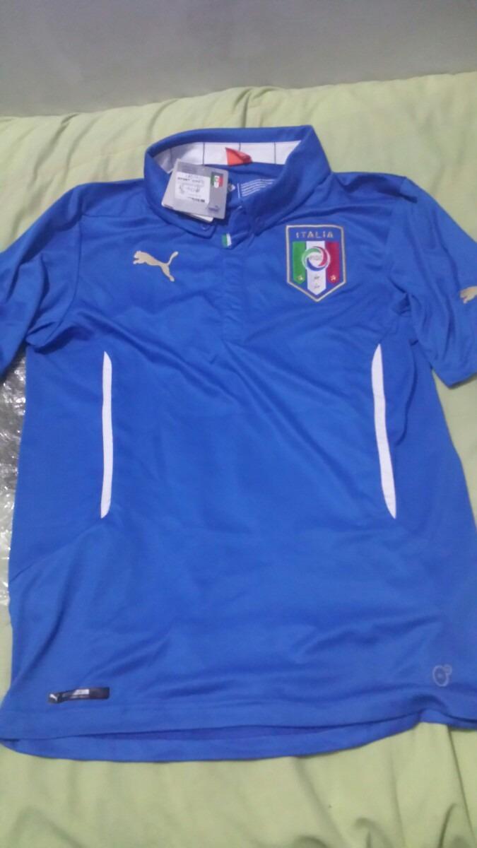 camiseta seleção itália azul tamanho médio. Carregando zoom. a3ada56b40c61