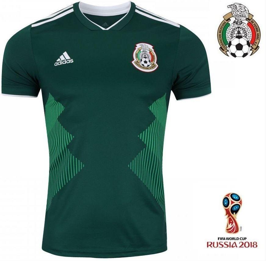 camiseta seleção mexicana méxico copa do mundo 2018 promoção. Carregando  zoom. dd53da2f4fa96