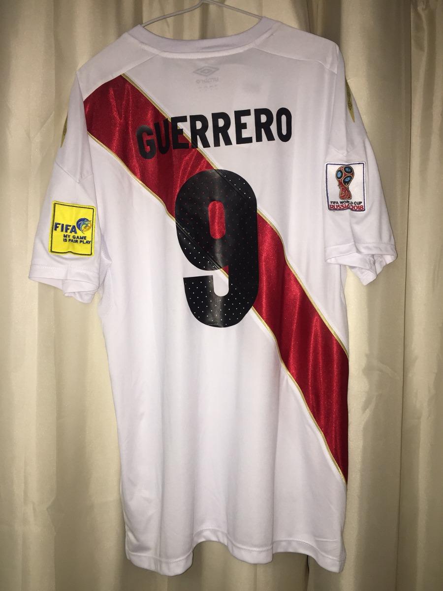 dc1761da85 camiseta seleção peru guerrero copa 2018 - tamanho g. Carregando zoom.