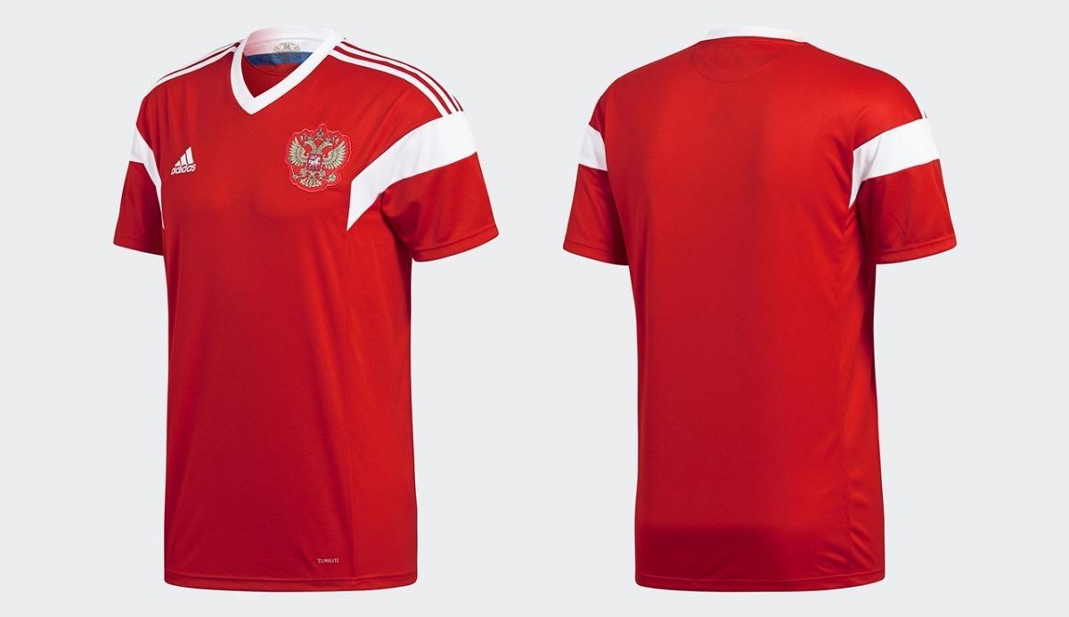 6f44515f36 camiseta seleção russa adidas vermelha copa 2018 novacamisa. Carregando zoom .