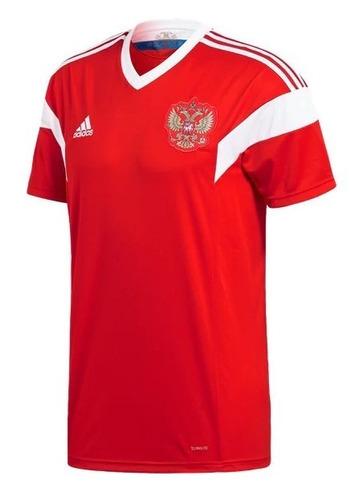 6685aa6ce9 Camiseta Seleção Russa adidas Vermelha Copa 2018 Novacamisa - R  128 ...