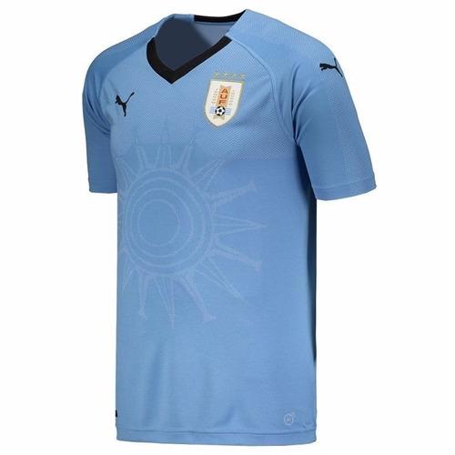 Camiseta Seleção Uruguai Copa Do Mundo 2018 Original Oficial - R  120 9a3844223bf56