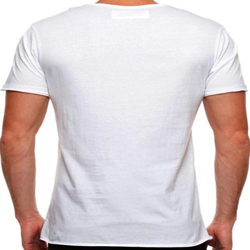 camiseta selvagem onça pintada masculina