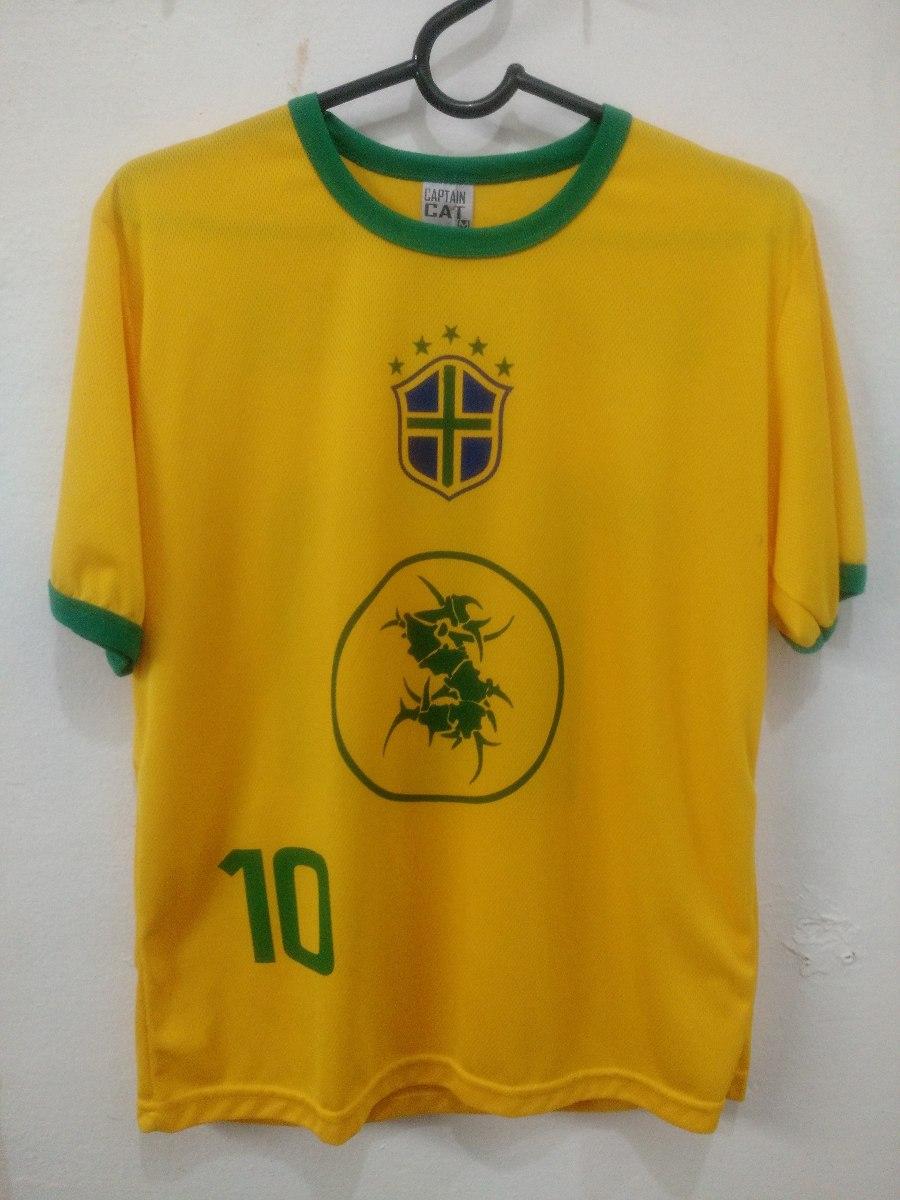 f7d25d71c35ef camiseta sepultura seleção brasileira brasil cbf banda. Carregando zoom.