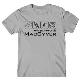 Camiseta Série Macgyver Geek Nerd Gamer