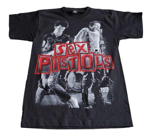 camiseta sex pistols rock activity importada talla m