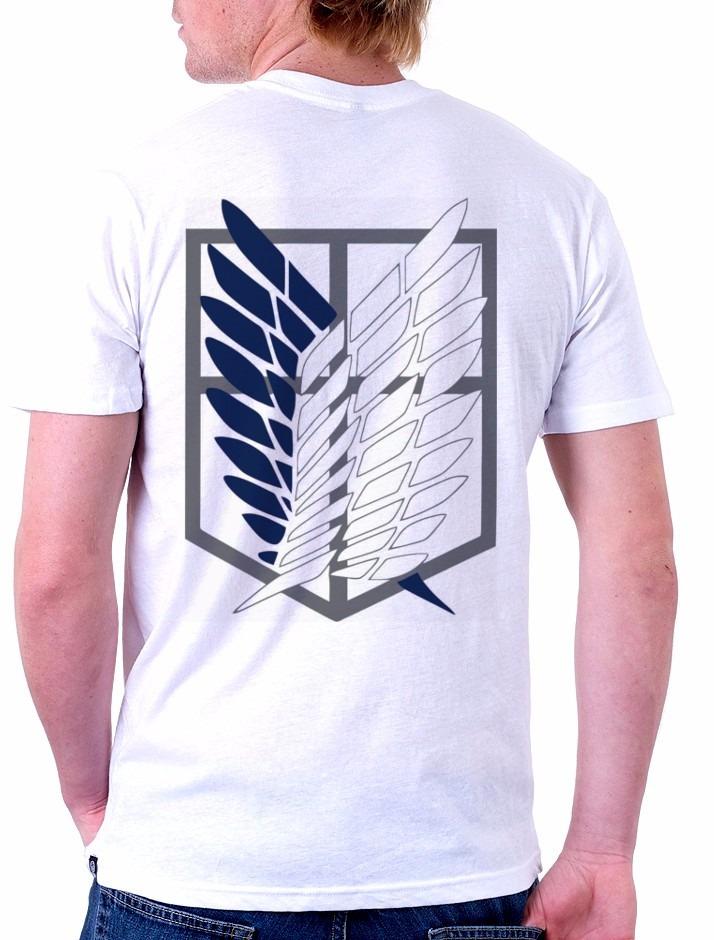 cfd520af1 Camiseta Shingeki No Kyojin (anime Atack On Titan) - R  67