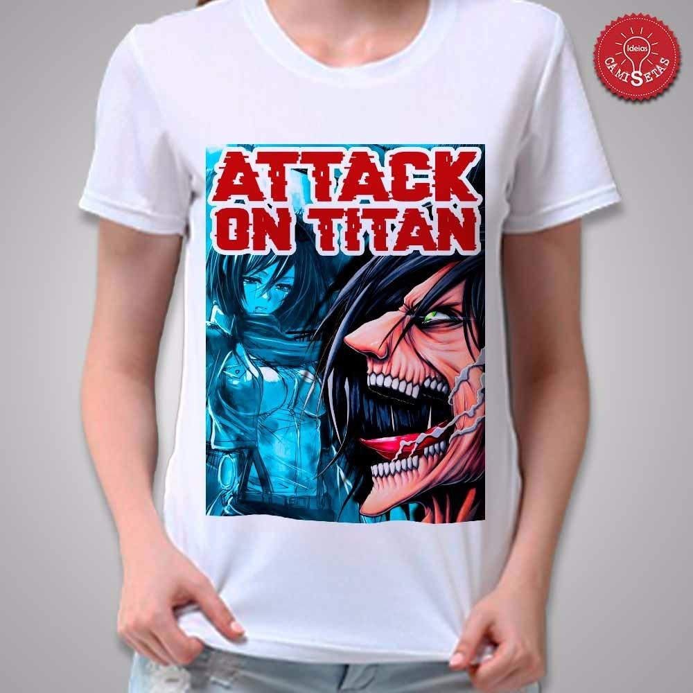 07f1e17be camiseta shingeki no kyojin attack on titan. Carregando zoom.
