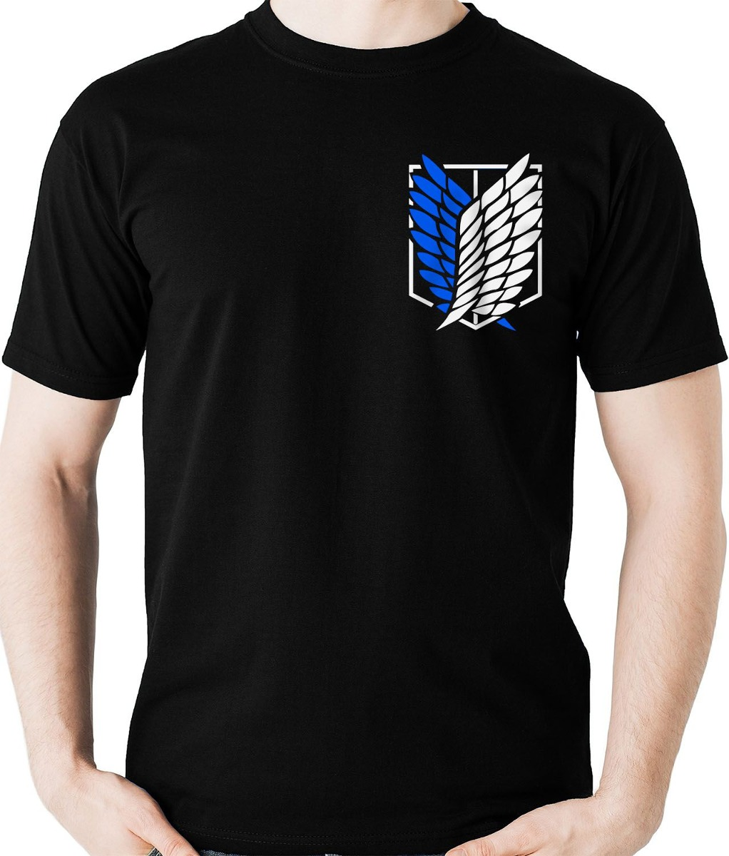 1e0361f7f camiseta shingeki no kyojin tropa exploração camisa blusa. Carregando zoom.