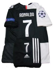 d98c3d1108 Camiseta Short Cristiano Ronaldo Nº7 Niños Champions League