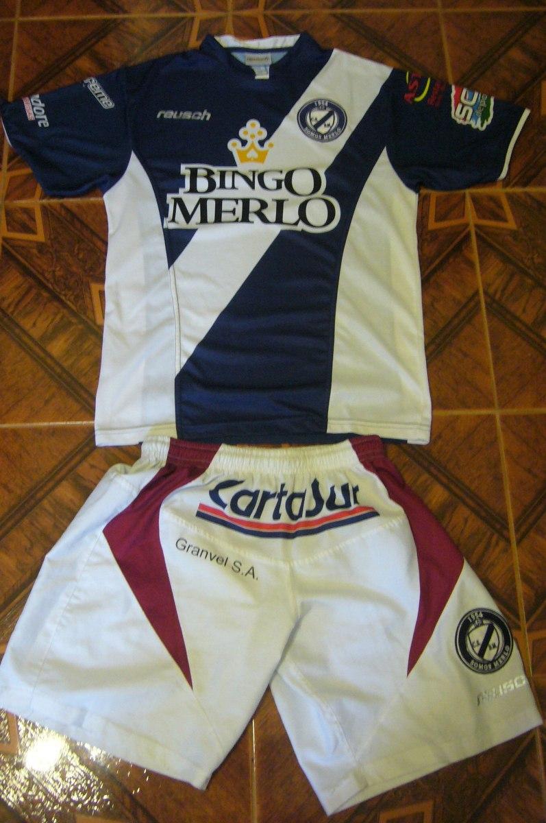 camiseta + short fútbol deportivo merlo reusch t. m conjunto. Cargando zoom. 8312e680fc547