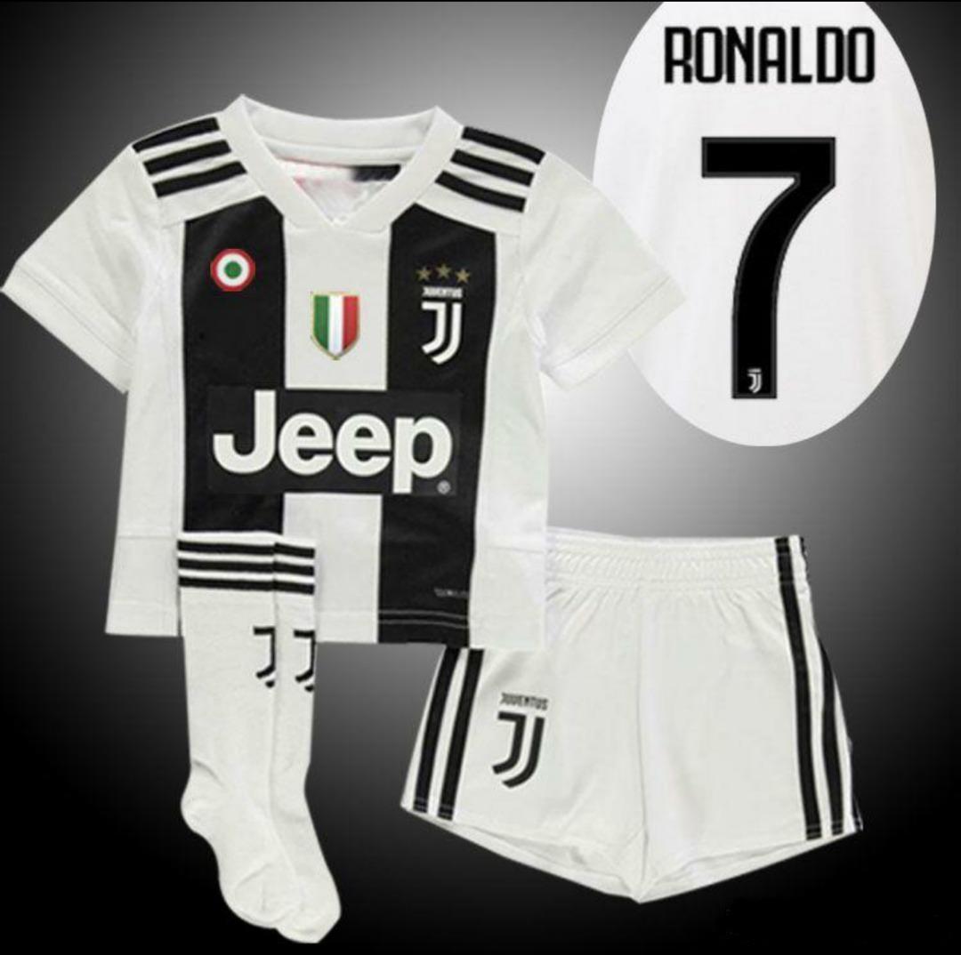 1b4103d000c9c camiseta+short+medias juventus niño 2018-2019 ronaldo  7. Cargando zoom.