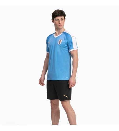 camiseta + short selección uruguaya niños