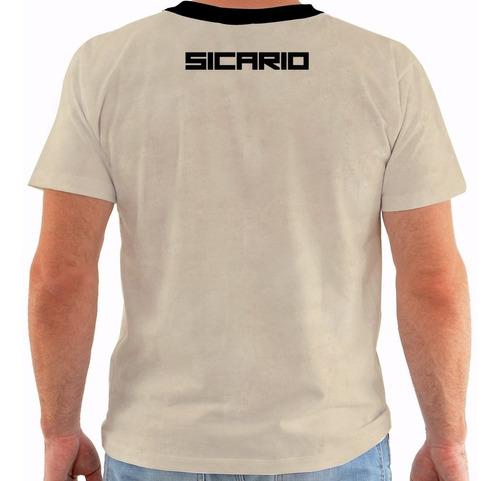 camiseta sicario - movies - filmes m361