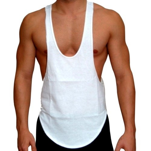6283c660b Camiseta Sin Mangas Para Hombre Bodybuilding Gym String Sin