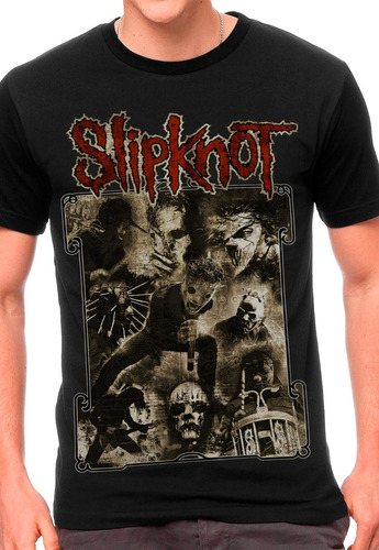 camiseta slipknot blusas moletom regatas bandas rock metal