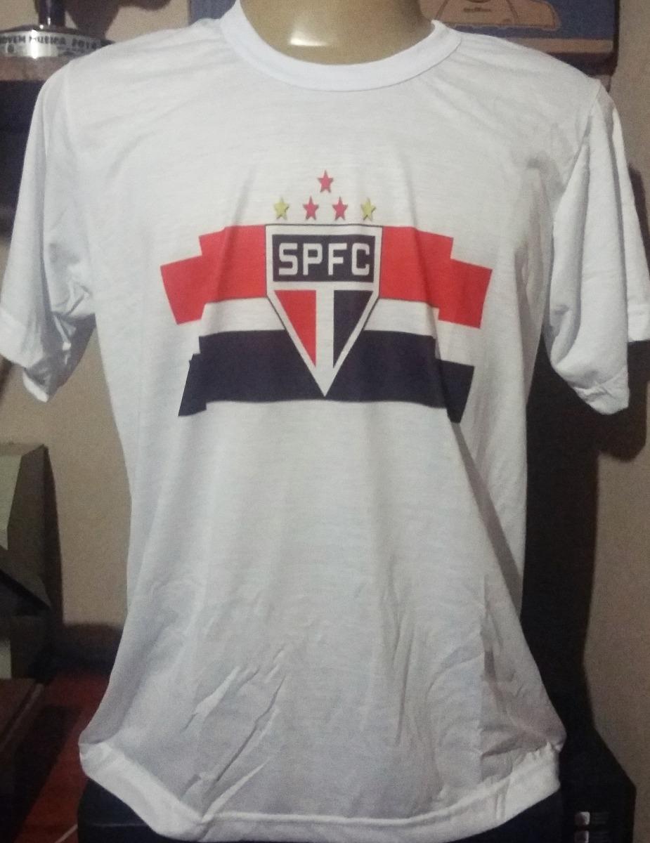 camiseta são paulo futebol clube com seu nome atrás. Carregando zoom. dc396196c6c