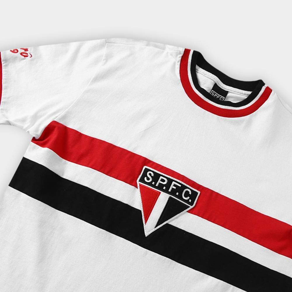 464015a5f5b camiseta são paulo réplica retrô 1969 masculina. Carregando zoom.
