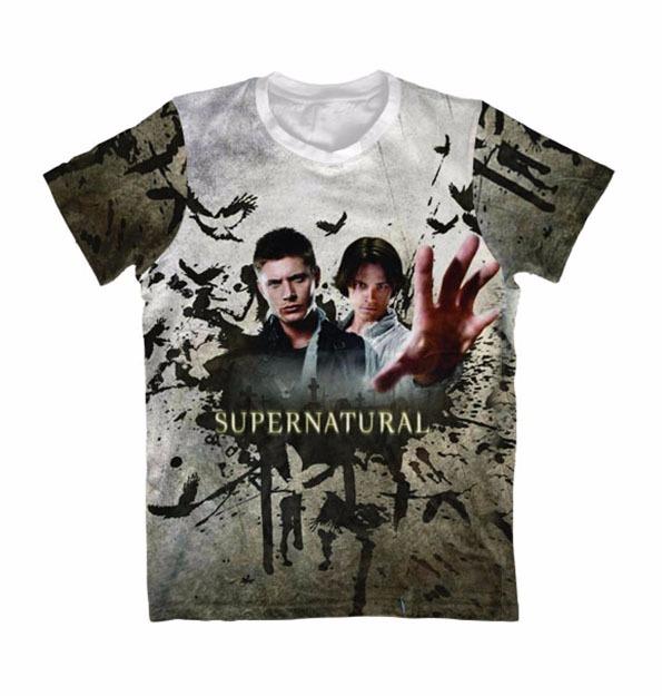 Camiseta Sobrenatural 4 - Camisa Quarta Temporada - R  79 7b137669f68